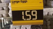 IMAGE: Price of eggs increasing significantly