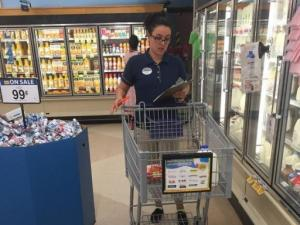 Food Lion shops for wife of deployed soldier