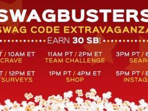Swagbusters Swag Code Extravaganza June 2015