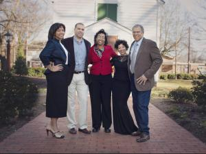 McDonald's owner/operator Gaffney W. Gunter and family