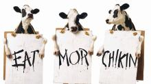 IMAGES: Fact check: Photo of Chick-fil-A employees with 'Back the Blue' shirts taken out of context