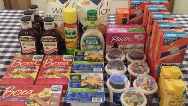Faye's Super Doubles shopping trip for $15.80.