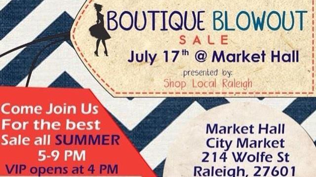 Boutique Blowout