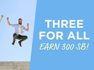 Swagbucks Three for All