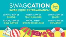 IMAGE: Swagbucks Swag Code Extravaganza on Thursday!