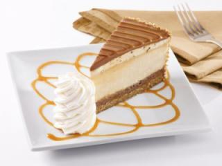 The Cheesecake Factory's Salted Caramel Cheesecake