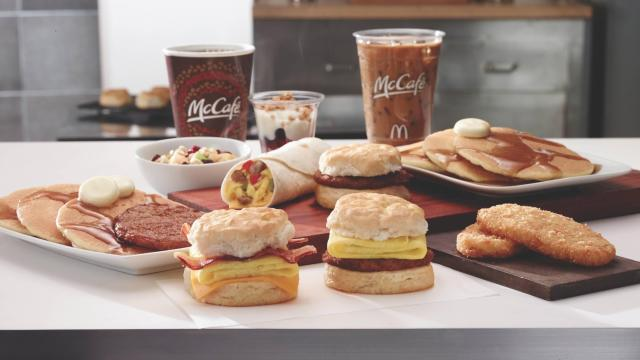 McDonald's breakfast items