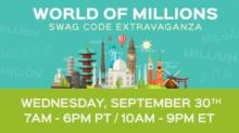 IMAGE: $100 Million Day Swag Code Extravaganza: Code until 9 pm!