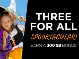 Swagbucks Three for All Spooktacular!
