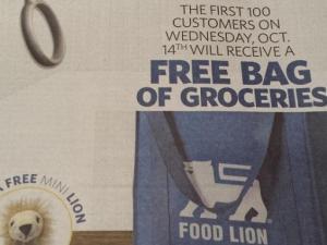 Food Lion giveaway