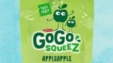 IMAGE: GoGo Squeeze Applesauce recalled for mold