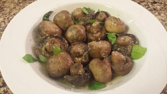 Parmesan mushrooms