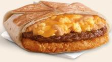 IMAGE: FREE Taco Bell A.M. Crunchwrap on Thursday!