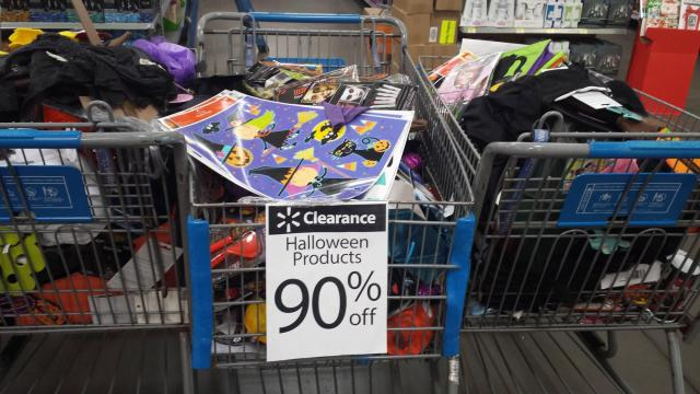 walmart halloween clearance - Halloween Decorations Clearance