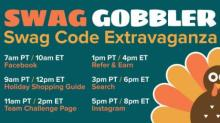 IMAGE: Swagbucks Swag Code Extravaganza all day today!