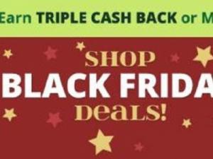 Swagbucks Black Friday Triple Cash Back!