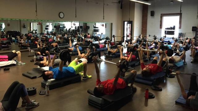 O2 Fitness class