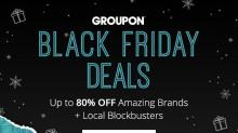 IMAGE: Groupon Black Friday: Up to 80% off!