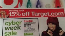 IMAGE: Target Cyber Monday: 15% off and free shipping!