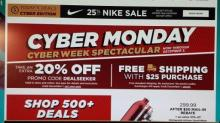 IMAGE: Kohl's Cyber Monday: 20% off AND $10 off $50 code!