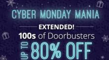 IMAGE: Groupon Cyber Monday sale extended through today