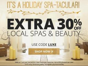 Groupon 30% off beauty discount!