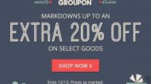 IMAGE: 20% off Groupon Goods deals