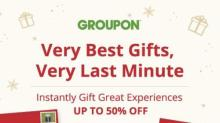 IMAGE: Give great experiences through Groupon