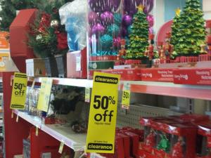 CVS 50% off Christmas clearance