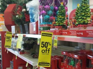CVS 50% off Christmas clearance