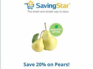 Savingstar pear discount