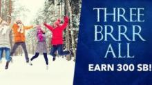 Swagbucks Three Brrr All