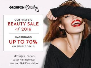 Groupon beauty sale