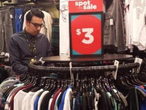 Rue 21 men's clearance with Augustin