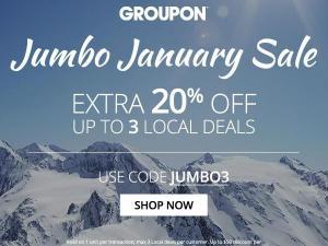 Groupon 20% coupon code