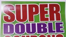 Super Doubles at Harris Teeter!