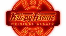 IMAGE: Free Hot Chocolate samples at Krispy Kreme on 1/31