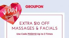 IMAGE: $10 off massages & facials at Groupon