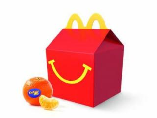 McDonald's Happy Meal with Cuties