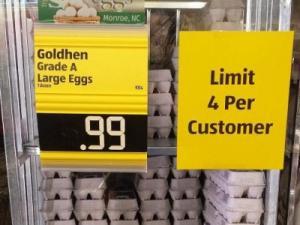 Aldi egg sale