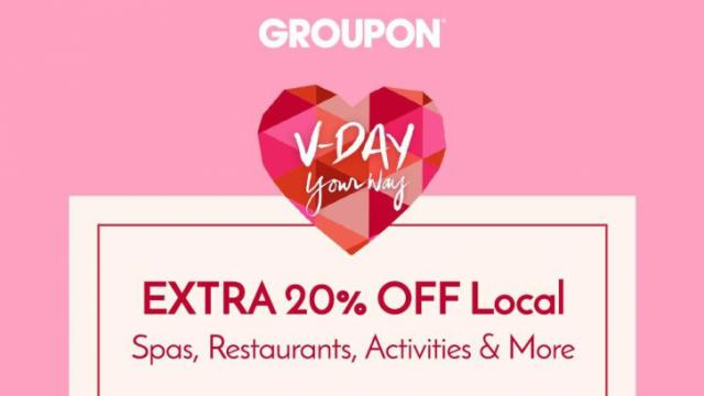 20% off Groupon Local Deals