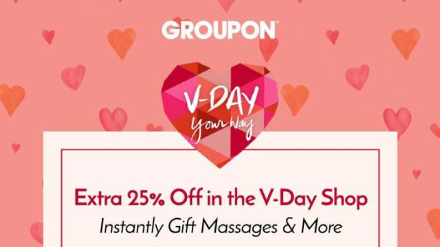 Groupon Valentine's Deals
