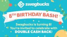 IMAGE: Double cash back at Swagbucks through 2/25