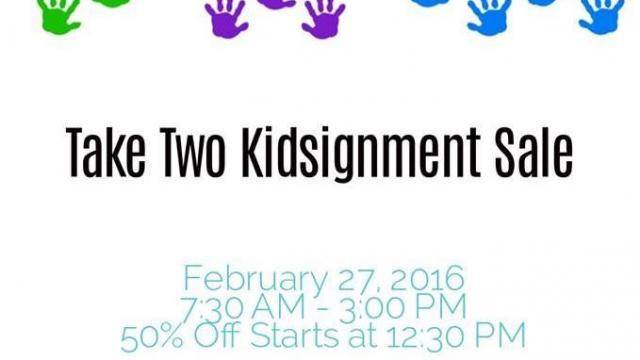 Take Two Kidsignment Sale