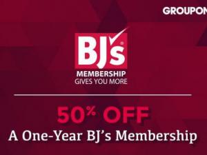 BJ's Groupon Offer