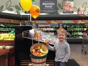 Kroger free fruit basket for kids