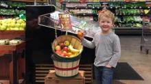 IMAGE: Kids get free fruit at Kroger!