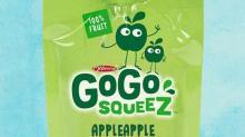 IMAGE: GoGo squeeZ applesauce recall