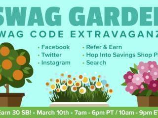 Swagbucks Swag Garden Extravaganza