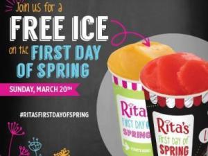 Rita's Free Italian Ice 3-20-16